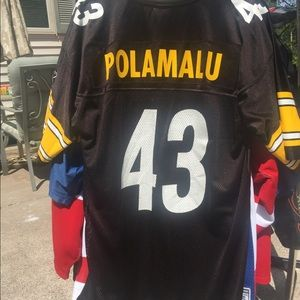 Troy Polamalu Pittsburgh Steelers NFL Jersey